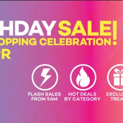 Lazada 3rd Birthday Sale Now ON!
