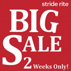 Big Clearance Sale up to 60% off @ Stride Rite United Square