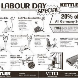 Labour Day Special @ Kettler Sports & Fitness