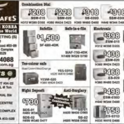 Special Safe Promotion @ Eagle Safes