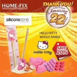 20% off Hello Kitty baking accessories @ Home-Fix