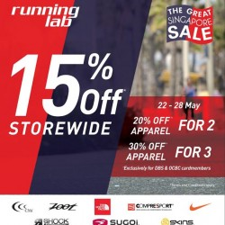 GSS 15% off storewide @ Running Lab