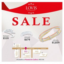LOVIS Diamond Sale @ Marina Gallery