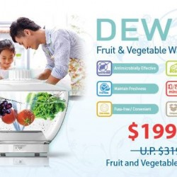 Fruit and Vegetable Washer D818 For $199 (Save $120)