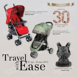 Travel with ease promotion @ Mothercare