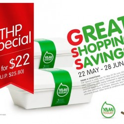 YAMI Yogurt's Great Shopping Savings @ One Raffles Place