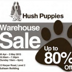 Warehouse Sale 2015 @ Hush Puppies