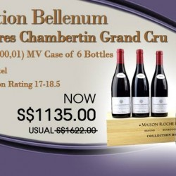 Collection Bellenum Assortment Latricieres Chambertin Grand Cru promotion @ The Oaks Cellars
