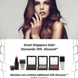 GSS 10% off storewide @ MAKE UP STORE