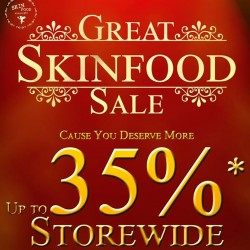 Great Singapore Sale Promotion Up to 35% Off Storewide @ Skinfood