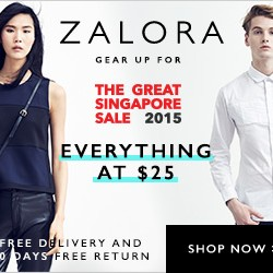GSS Everything At $25 @ Zalora