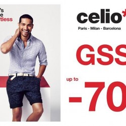 Great Singapore Sale up to 70% off @ Celio*
