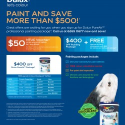 Paint & Save more than $500 @ Dulux