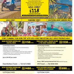 Gold coast & Queensland promotion packages @ Scoot