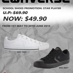29% OFF Converse Star Player school shoes @ Bata