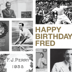 Frederick John Perry's birthday sale: 20% off Fred Perry Shirts for FB Fans