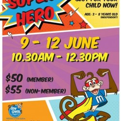 'Superhero' theme event for your child