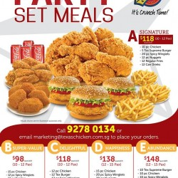 Party Set Meals @ Texas Chicken