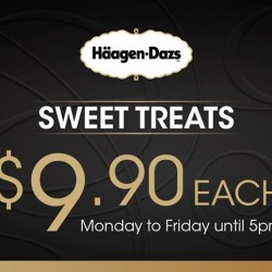 Sweet Treats For $9.9 Each @ Häagen-Dazs