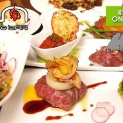 $38 for a 6-Course Wagyu or Seafood Meal @ En Grill & Bar UE Square
