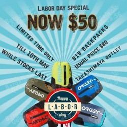 Labor Day offer @ C.E.D.S Takashimaya
