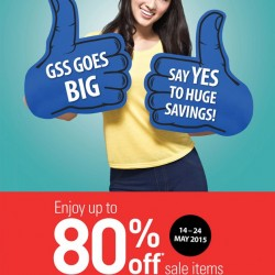 Up to 80% off GSS promotion @ John Little