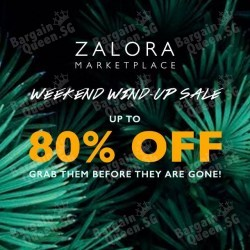 Marketplace sale up to 80% off @ Zalora