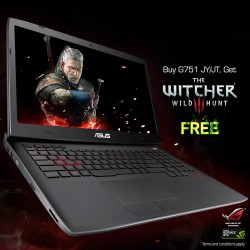 Exclusive NVIDIA game bundle of The Witcher® 3 @ ASUS