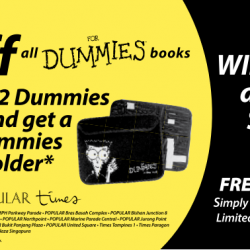 20% Off Dummies Book + Free Tablet Holder