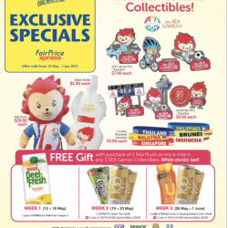 Get Your SEA Games 2015 Collectibles @ Cheers
