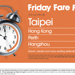 Friday Fare Frenzy @ Jetstar