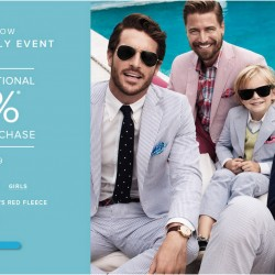 Additional 25% OFF Storewide Coupon Code @ Brooks Brothers