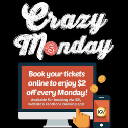 GV Movie Club Crazy Monday - Final Week