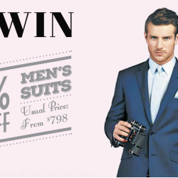 50% Off Men's Suits @ T.M.Lewin