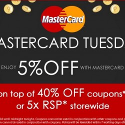 30 June, Rakuten Coupon Code Compilation --- Rakuten Mastercard Tuesday Crazy Sale