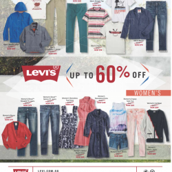 Up To 60% Off @ Levi's
