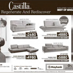 Sofa Promotion @ Castilla