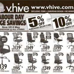Labour Day Huge Saving @ V.hive