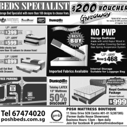 Promotion @ Beds Specialist