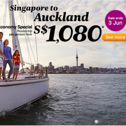 Experience New Zealand @ Air New Zealand