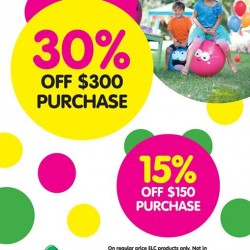 GSS promotion @ Early Learning Centre