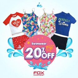 20% off swimwear @ Fox