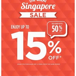 GSS: Up to 15% off + up to 50% off @ TheFaceShop