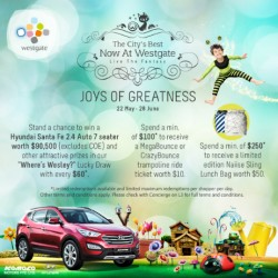 Joys of Greatness @ Westgate