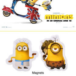 Cathay Cineplexes: Purchase 2 MINIONS movie tickets and receive a collectible premium