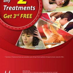 Kenko Wellness: FREE additional session with every 2 sessions purchased