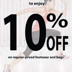 Bata: 10% off regular priced items for athletes