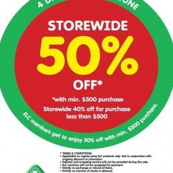 Early Learning Centre: Storewide 50% off