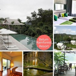 AirAsiaGo: Save up to 35% on your stay at Belum Rainforest Resort, Perak