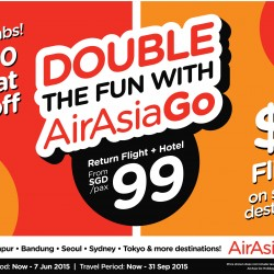 Double the fun @ AirAsiaGo